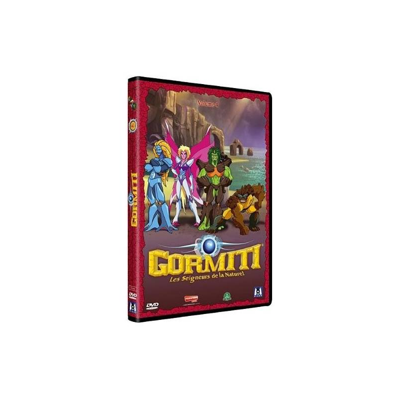 DVD - Gormiti - Season 1: The Lords of Nature! - Volume 4