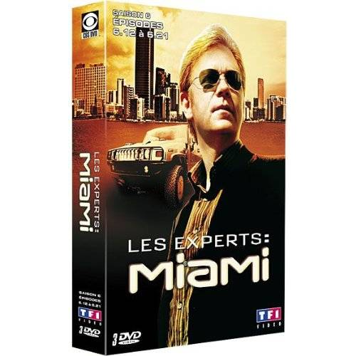 DVD - Les experts : Miami - Saison 6 / Partie 2