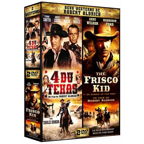 DVD - Deux westerns de Robert Aldrich : 4 du Texas et the Frisco kid
