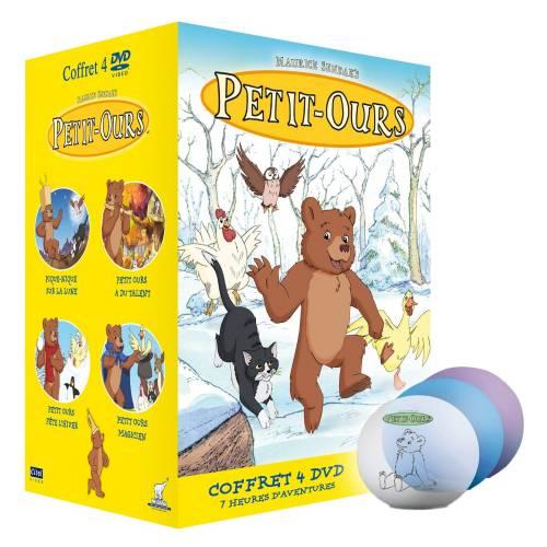 DVD - Petit-Ours - Coffret 4 DVD