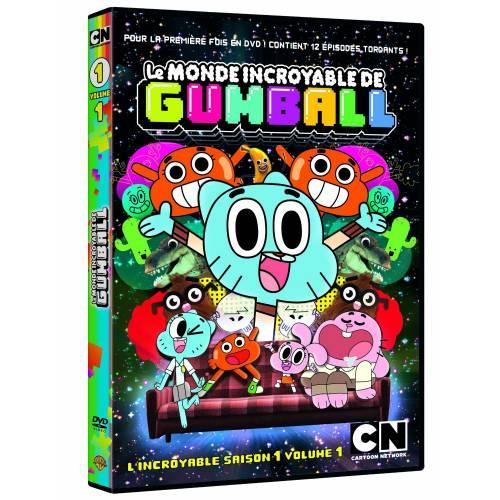 DVD - Le monde incroyable de Gumball