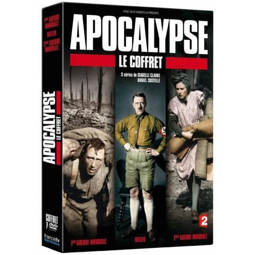 DVD - Apocalypse - Le coffret : La 1ère Guerre Mondiale ,Hitler ,La 2ème Guerre Mondiale