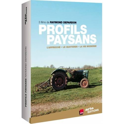 DVD - Profils paysans : L'approche , Le quotidien les années déclics ,La vie moderne / 3 DVD