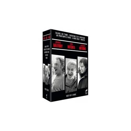 DVD - Coffret Hallyday - Mitchell - Dutronc