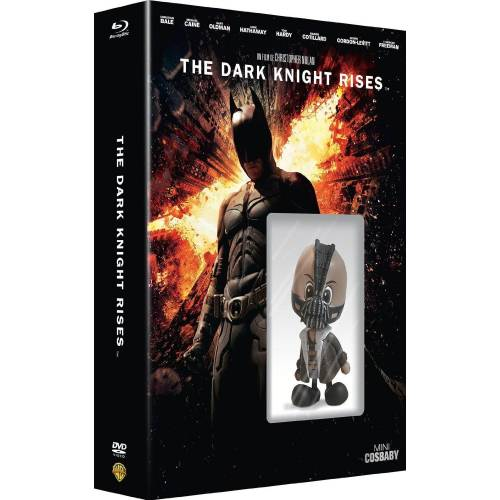 Blu-ray - Batman - The Dark Knight Rises - Edition limitée Mini Cosbaby (Blu-ray , DVD , Copie digitale)