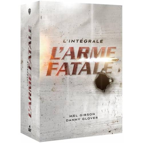 DVD - L'Arme fatale - L'intégrale (coffret)
