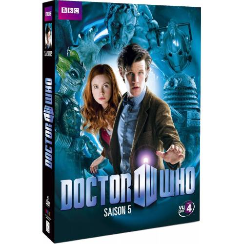 DVD - Doctor Who : Saison 5