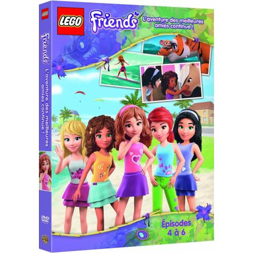 DVD - Lego Friends : Les folles aventures continuent