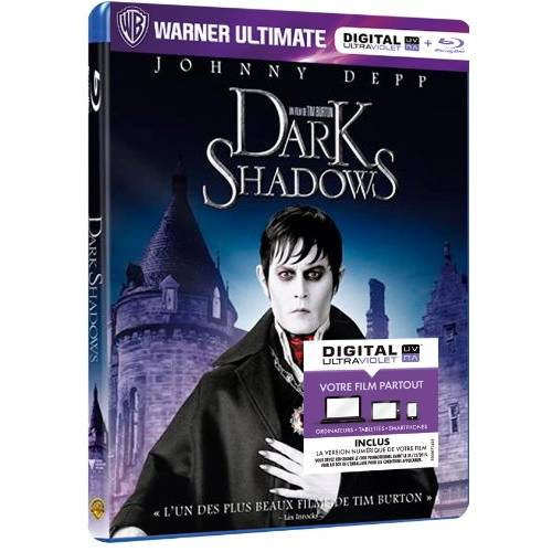 Blu-ray - Dark Shadows (Blu-ray , Digital Ultraviolet)