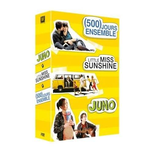 DVD - (500) jours ensemble , Juno , Little Miss Sunshine / Coffret 3 DVD