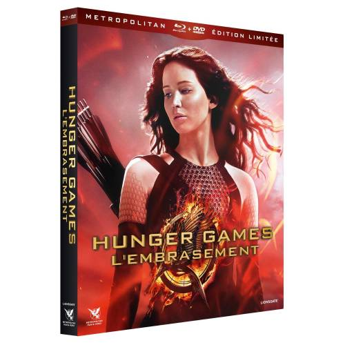 Blu-ray - Hunger Games : L'embrasement - Edition limitée (Blu-ray DVD)
