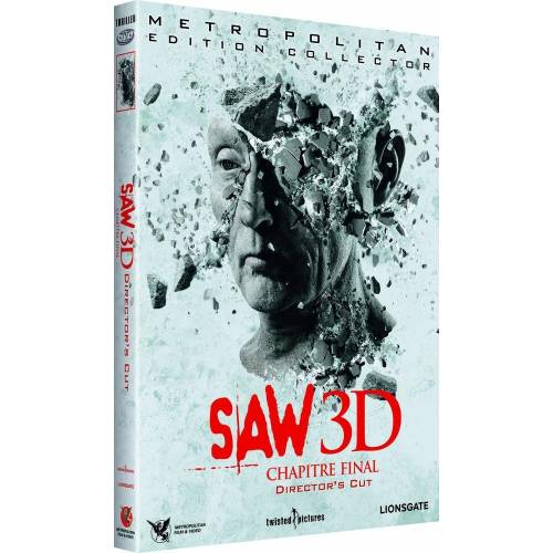 DVD - Saw 3D : Chapitre final / 2 DVD