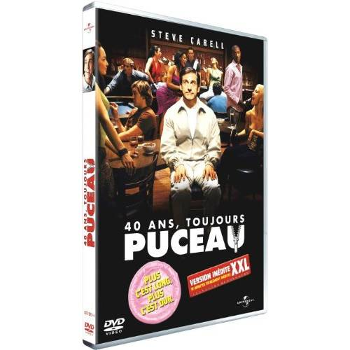 DVD - 40 ans, toujours puceau