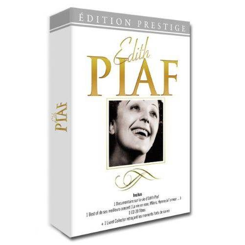 EDITH PIAF - COLLECTOR + 1 CD + 1 LIVRET 2013