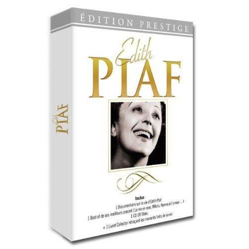 EDITH PIAF - COLLECTOR + 1 CD + 1 LIVRET 2013