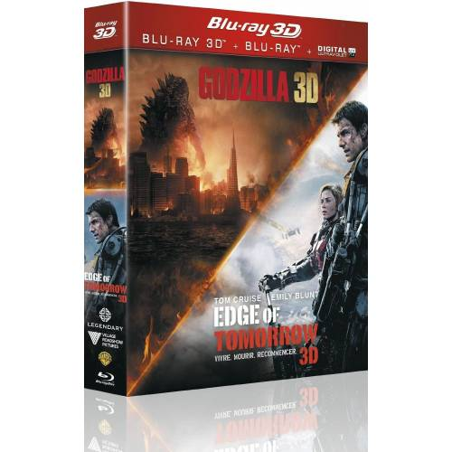 EDGE OF TOMORROW + GODZILLA [COMBO BLU-RAY 3D + BLU-RAY 2D]