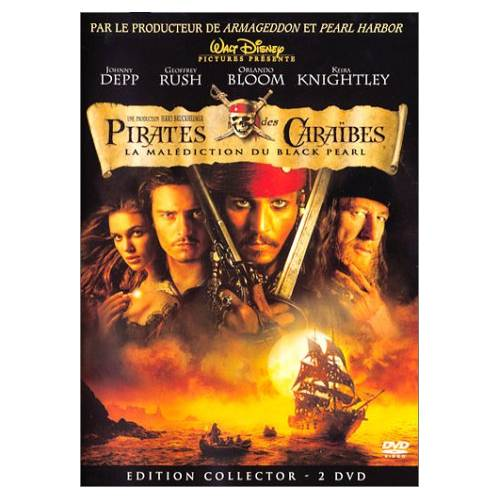 DVD - Pirates des Caraïbes : La malédiction du Black Pearl - Edition collector / 2 DVD