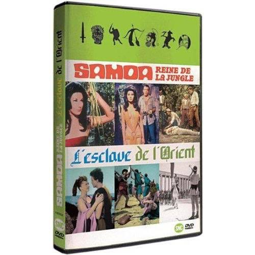 DVD - SAMOA, REINE DE LA JUNGLE + L'ESCLAVE DE L'ORIENT