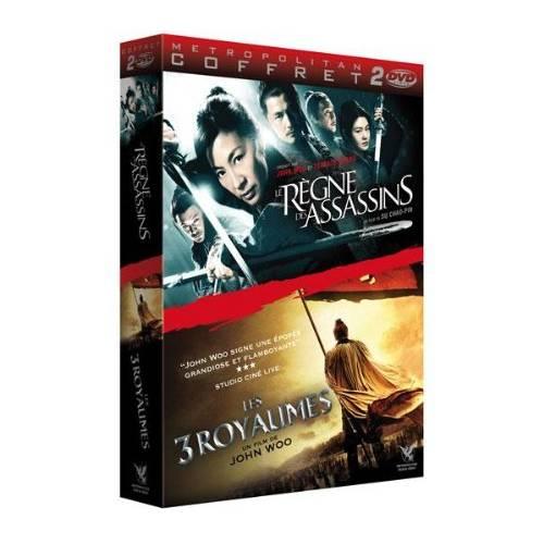 DVD - LE RÈGNE DES ASSASSINS + LES 3 ROYAUMES (2010) - DVD PACK