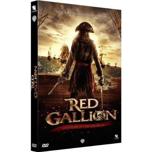 DVD - RED GALLION - LA LÉGENDE DU CORSAIRE ROUGE