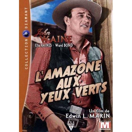 DVD - L'AMAZONE AUX YEUX VERTS