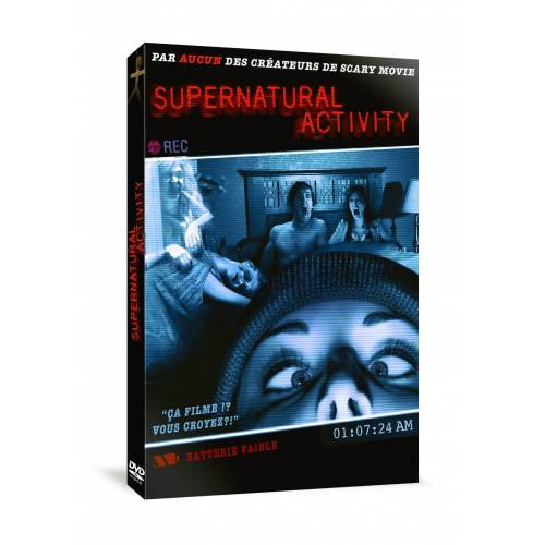 DVD - SUPERNATURAL ACTIVITY