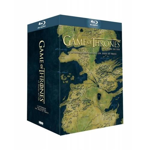 GAME OF THRONES (LE TRÔNE DE FER) - L'INTÉGRALE DES SAISONS 1, 2 ET 3 [BLU-RAY]