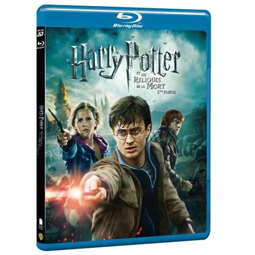 Blu-ray - HARRY POTTER ET LES RELIQUES DE LA MORT - 2ÈME PARTIE [COMBO BLU-RAY 3D + BLU-RAY 2D]