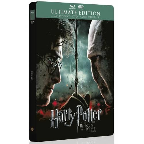 HARRY POTTER ET LES RELIQUES DE LA MORT - 2ÈME PARTIE [ULTIMATE EDITION BOÎTIER STEELBOOK - COMBO BLU-RAY + DVD]