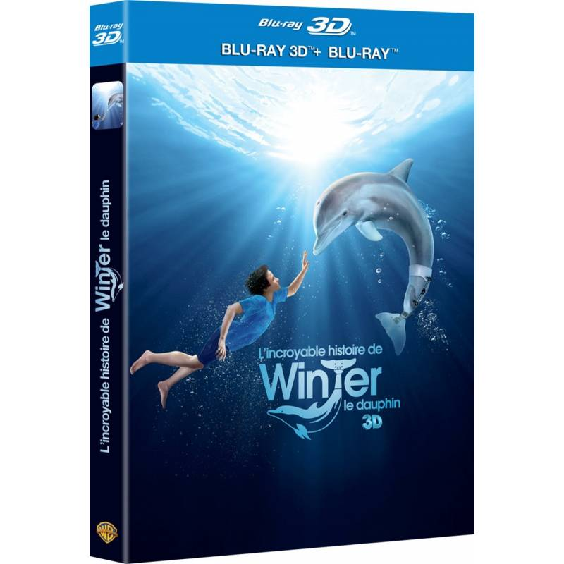 L'INCROYABLE HISTOIRE DE WINTER LE DAUPHIN [COMBO BLU-RAY 3D + BLU-RAY 2D]