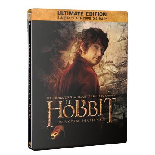 LE HOBBIT : UN VOYAGE INATTENDU (EDTION LIMITÉE) 2 BLU-RAY + DVD + COPIE DIGITALE