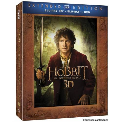 LE HOBBIT : UN VOYAGE INATTENDU [VERSION LONGUE - BLU-RAY 3D + BLU-RAY + DVD + COPIE DIGITALE]