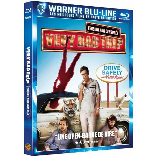 Blu-ray : Very Bad Trip [Non censuré]