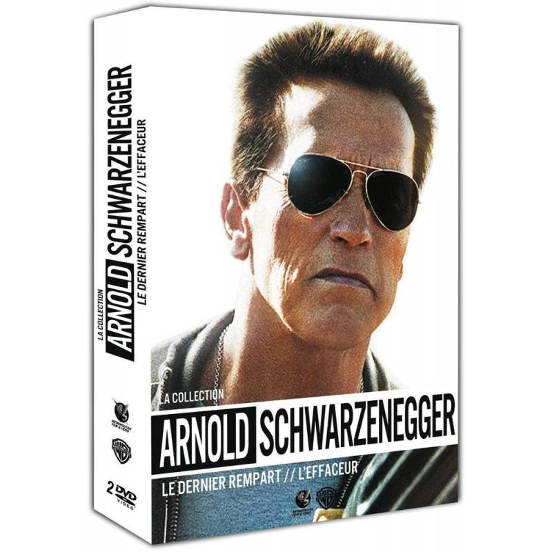 dvd la collection arnold schwarzenegger le dernier rempart l 39 effaceur. Black Bedroom Furniture Sets. Home Design Ideas