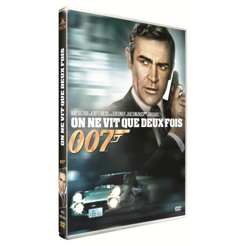 DVD - JAMES BOND, ON NE VIT QUE DEUX FOIS