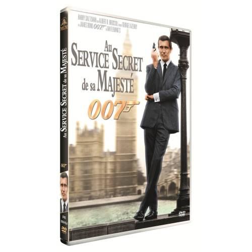 DVD - JAMES BOND, AU SERVICE SECRET DE SA MAJESTÉ