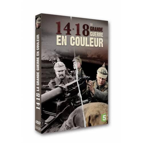DVD - 14-18, LA GRANDE GUERRE EN COULEURS