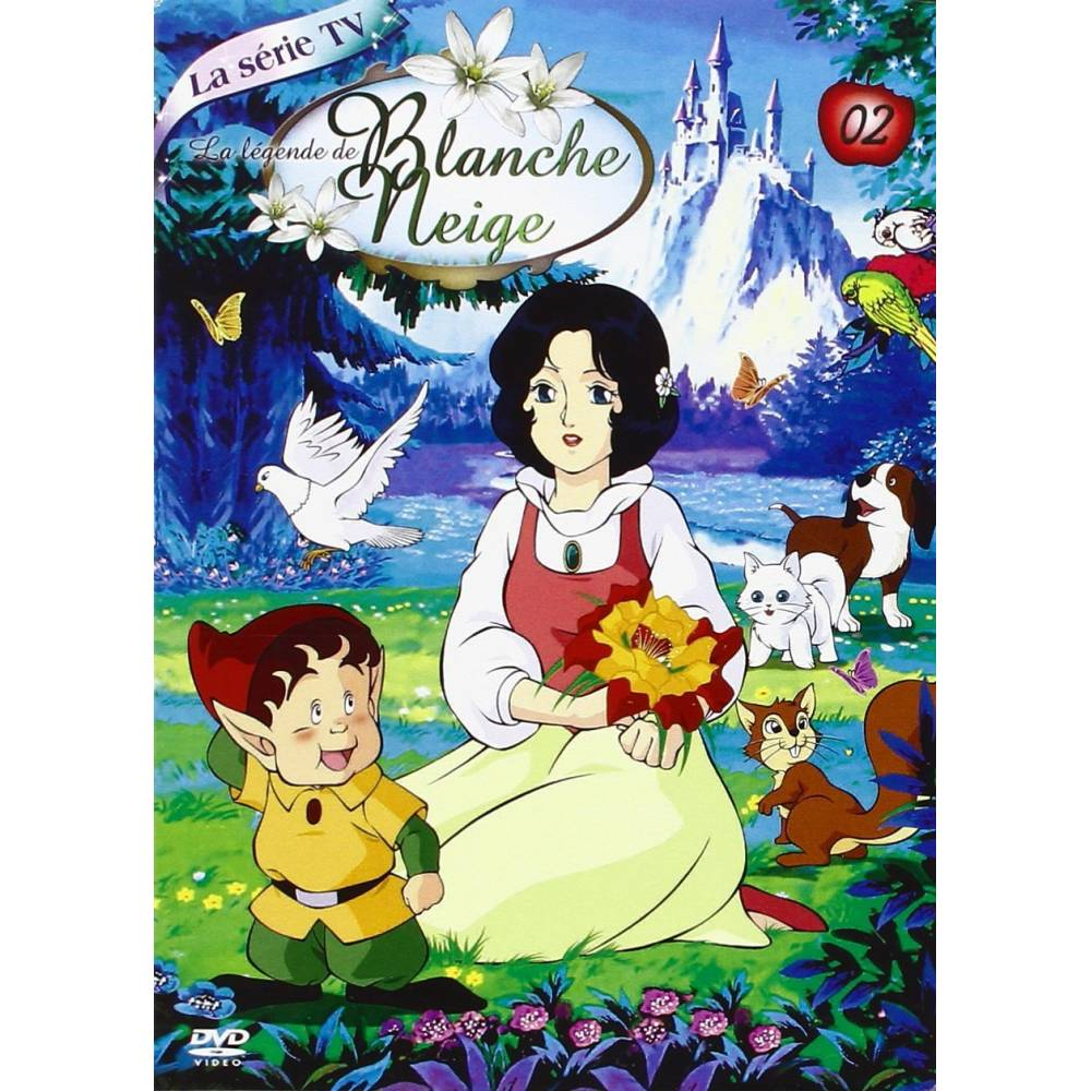 dvd la l gende de blanche neige partie 2 coffret 4 dvd. Black Bedroom Furniture Sets. Home Design Ideas