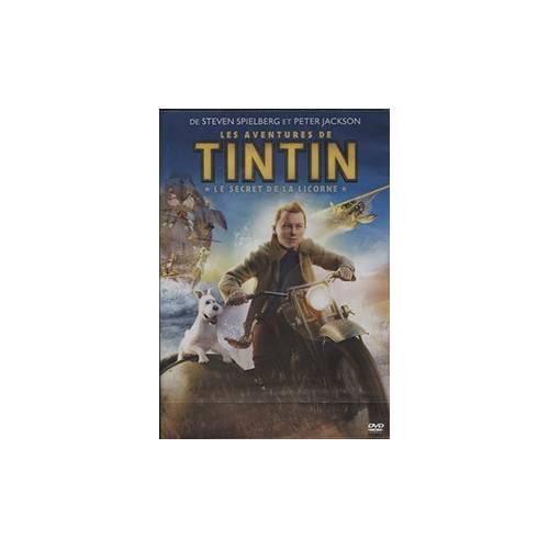 DVD - LES AVENTURES DE TINTIN : LE SECRET DE LA LICORNE