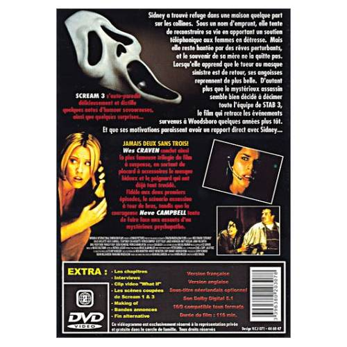 DVD - Scream 3