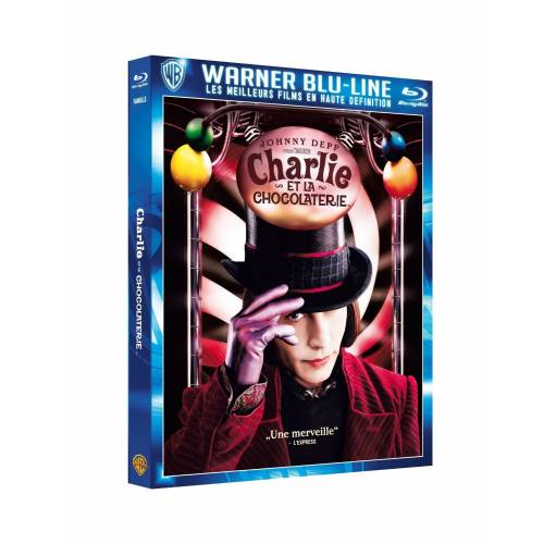 Blu-ray - Charlie et la chocolaterie