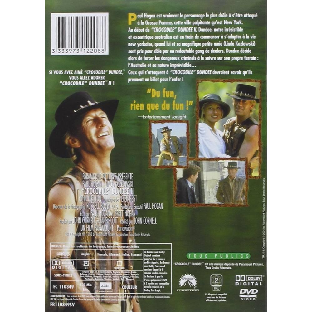 Dvd Crocodile Dundee Ii John Cornell Paul Hogan Promo New