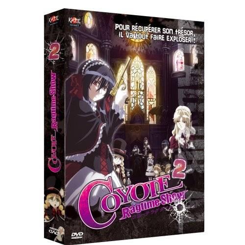 DVD - Coyote Ragtime Show - Coffret 2/4 [Inclus 1 Manga]