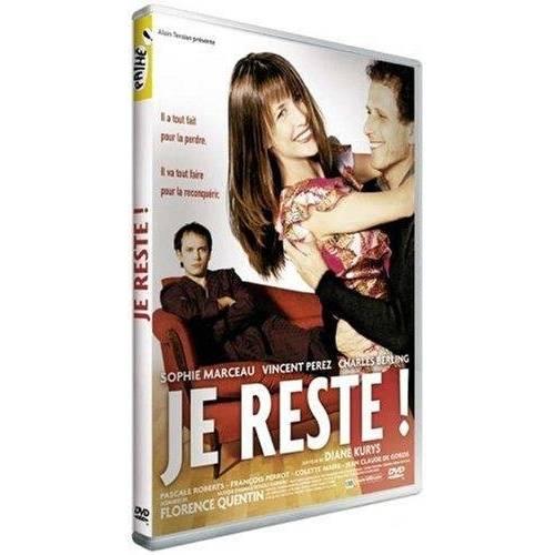 DVD - Je reste