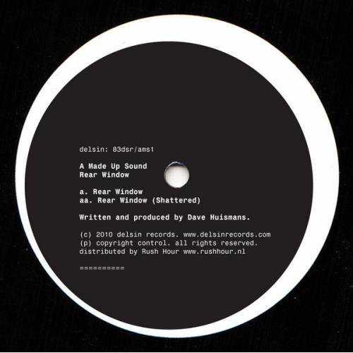 Vinyl - A Made Up Sound - Rear Window - Delsin - 83DSR/AMS1 - 12inch