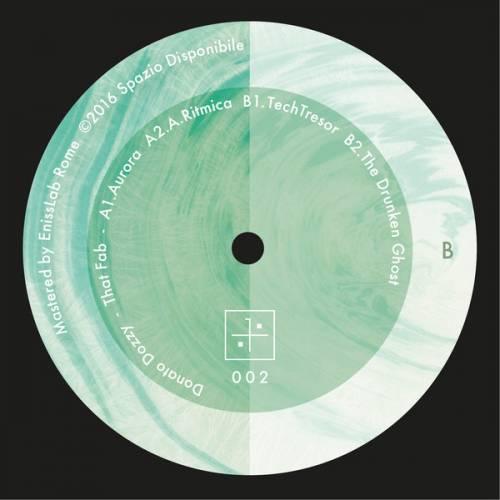 Donato Dozzy - That Fab - Spazio Disponibile - Spazio002 - 12inch