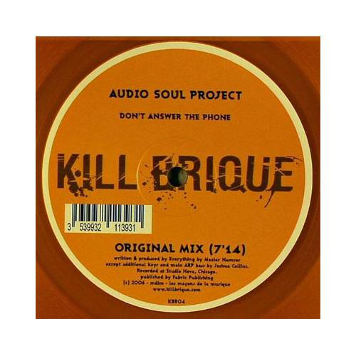 Audio Soul Project ‎– Don't Answer The Phone