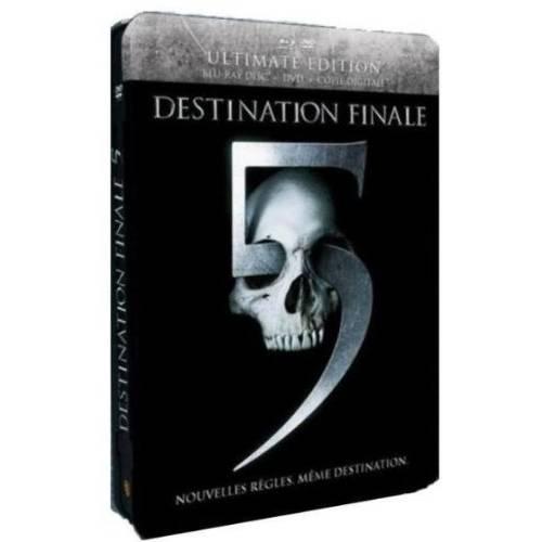 Destination finale 5 [Ultimate Edition boîtier SteelBook - Combo Blu-ray + DVD]