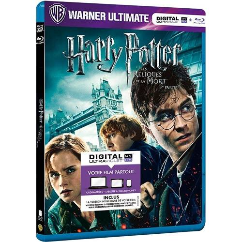 Harry Potter et les Reliques de la Mort - 1ère partie [Warner Ultimate (Blu-ray + Copie digitale UltraViolet)]