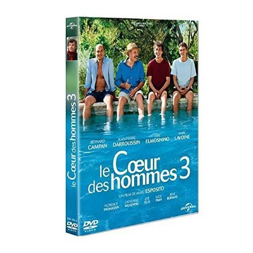 DVD LE COEUR DES HOMMES 3